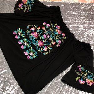 Beautiful black blouse
